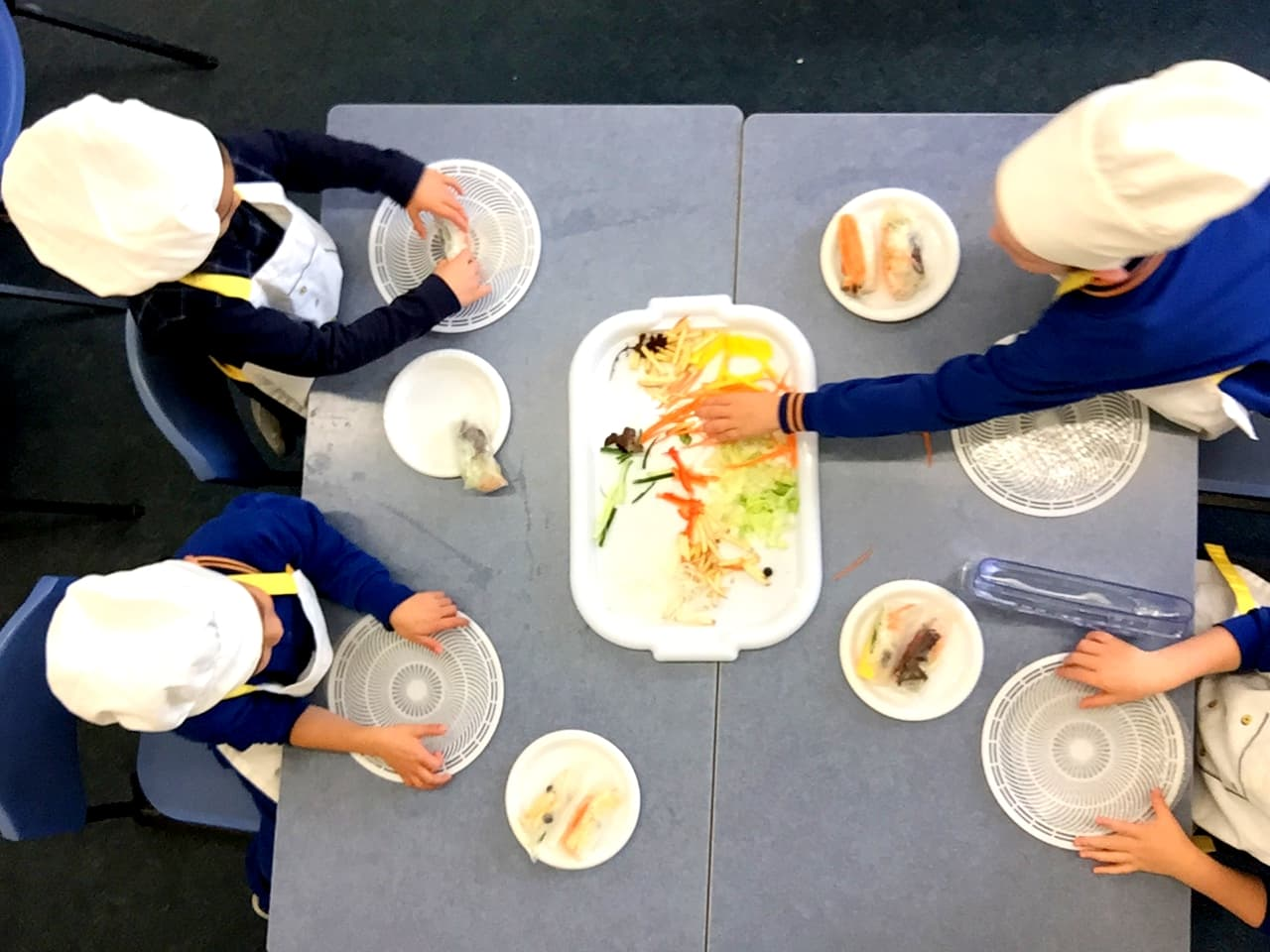 Rolling-Fun-Healthy-Food-Restaurant-by-Foundation-Students